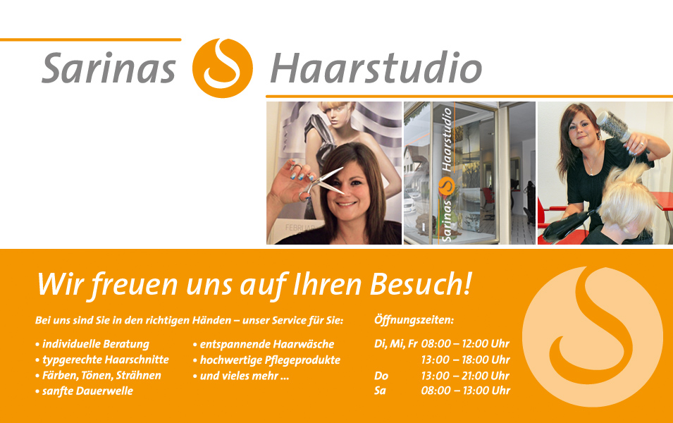 Sarinas Haarstudio in Uhingen